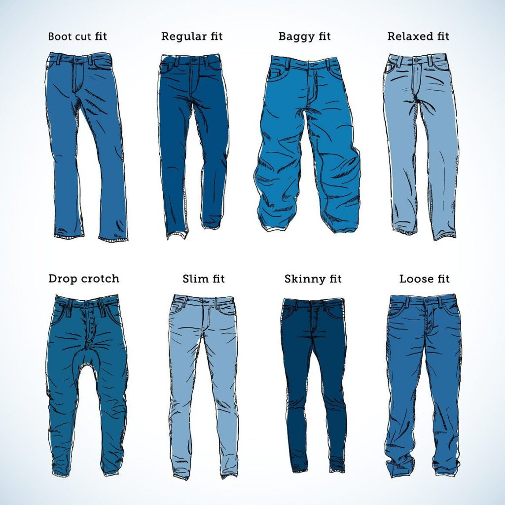 Popular Jean Cut Styles For Women and Men of All Body Types